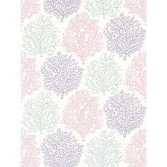 Buy Sanderson Coral Reef Wallpaper Online at johnlewis.com