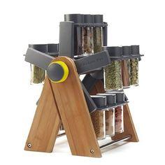 Kitchen Pro New Ferris Rangement à épices rotatif