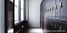 Los Angeles Athletic Club, locks on Hollman lockers. Wood Lockers, Locker Designs, Athletic Clubs, Storage Solutions, Locker Storage, Gallery, Room, Locks, Gun