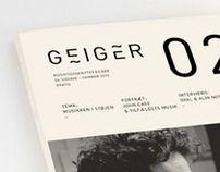 Redesign Geiger Magazine