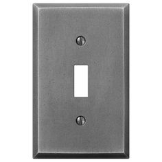 Manhattan Gunmetal Cast - 1 Toggle Wallplate