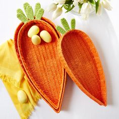 S/3 Carrot Baskets © Two's Company