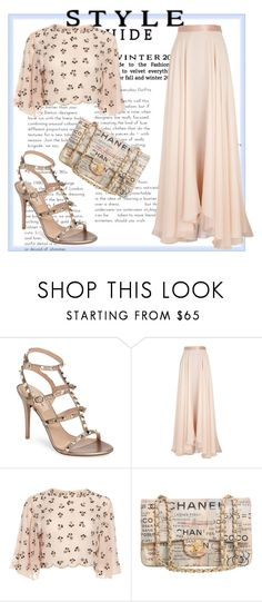 """""""Simple Outfit"""" by spookie1 ❤ liked on Polyvore featuring Valentino, Lanvin and Chanel"""