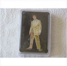 Elvis Presley Playing Cards - Gold Lame Suit