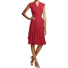 Tory Burch Womens Silk Wrap Casual Dress - New Dresses Special Today