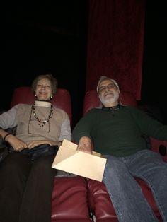 Noni & Artu enjoying movie