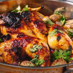 Spicy Coconut Roast Chicken