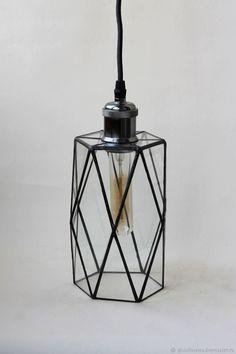 Витражный потолочный светильник Тиффани. Ретро. Лофт. Loft – купить в интернет-магазине на Ярмарке Мастеров с доставкой