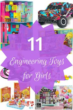Gift ideas for Girls!  Give her a STEM toy that will teach her about Engineering!