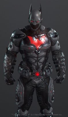 Batman Beyond arkham knight Batman Arkham Knight Villains, Batman The Dark Knight, Batmobile Arkham Knight, Arkham Knight Costume, Im Batman, Batman Suit, Batman Universe, Dc Comics Characters, Batman Beyond Costume