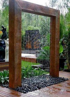 Lovely exterior shower.
