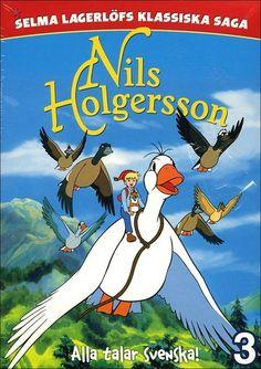 Nils Holgerson.......fliegt mit den Gaensen davon....