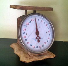 Vintage Kitchen Scale by VintageRelics802 on Etsy