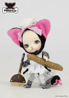 Pang-ju Jambu pang Groove cat mini ball jointed doll animal BJD in USA