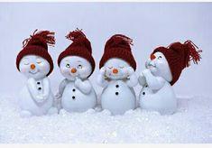 Devostock Cute Four Snowmen Face Expressions Dolls 2019 Christmas Stage Design, Christmas Love, Christmas Snowman, Christmas Photos, Christmas And New Year, Christmas Crafts, Christmas Decorations, Christmas Ornaments, Snowman Faces
