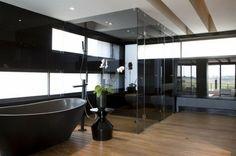 salle de bain tendance noire