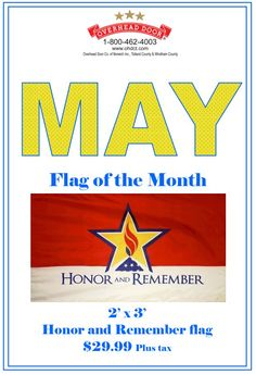 May Flag of the Month special