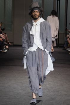 ヨウジヤマモト──2017春夏パリ・メンズコレクション メンズコレクション(ファッションショー) GQ JAPAN