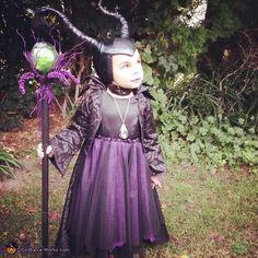 Maleficent - Homemade Halloween Costume