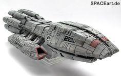 Battlestar Galactica: Pegasus (Giant Kit), Modell-Bausatz ... http://spaceart.de/produkte/bg011.php