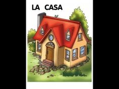 La Casa by Escalona Díaz-Mingo via slideshare Spanish Lesson Plans, Spanish Lessons, Spanish Class, Spanish Vocabulary, Teaching Spanish, Increase Vocabulary, Music Activities, Toddler Activities, Cute Cottage