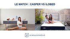 Casper🆚Ilobed : découvrez quel matelas est le meilleur ! 🛌🏆 #comparatif #matelas #Casper #CasperSleep #Ilobed #comparatifmatelas #meilleurmatelas #LeMeilleurMatelas