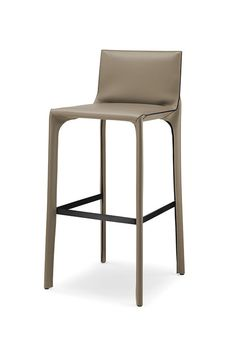 Saddle Chair bar stool with backrest - Designer Bar stools by Walter Knoll ✓ Comprehensive product & design information ✓ Catalogs ➜ Get inspired now Saddle Bar Stools, Saddle Chair, Bar Stool Chairs, Counter Stools, Rocking Chair Cushions, Patio Chair Cushions, Patio Chairs, Adirondack Chairs, Lounge Chairs
