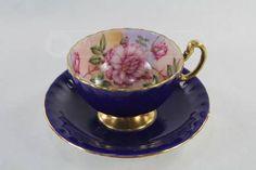 shopgoodwill.com: Beautiful Floral Aynsley Tea Cup