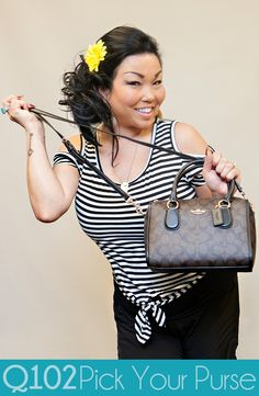 Coach - Signature Mini Beenie Satchel. Go to wkrq.com to find out how to play Q102's Pick Your Purse!