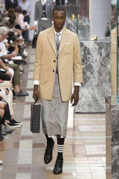 Thom Browne, Spring-Summer 2018, Paris, Menswear