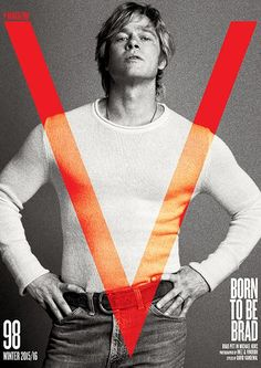 Brad Pitt Channels Robert Redford -- and Looks Hotter Than Ever -- in Sexy New Photoshoot