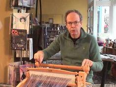 ▶ Warping the Harp, your rigid heddle loom from Kromski - using warp sticks - YouTube
