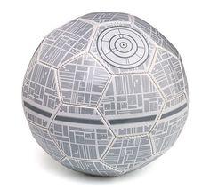 Death Star soccer ball...nifty.