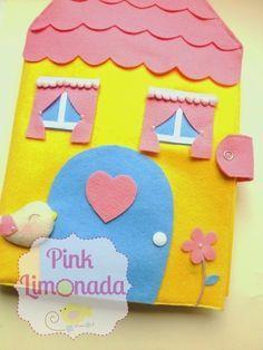 Pink Limonada : Casinha em feltro!