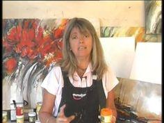 MONITOR | Gabriela Mensaque pintando con Acrílicos Profesionales Lautrec...