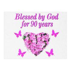 PRETTY 90TH BIRTHDAY FLORAL FLEECE BLANKET Mom Birthday Crafts, Happy 90th Birthday, Birthday Gift Cards, 90th Birthday Parties, Birthday Gift Baskets, Unique Birthday Gifts, 90 Birthday, Candy Bar Posters, Birthday Photos