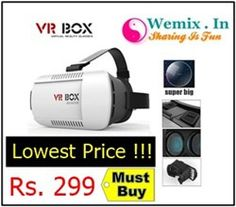 Top Quality 3D Plastic VR Headset Rs 299