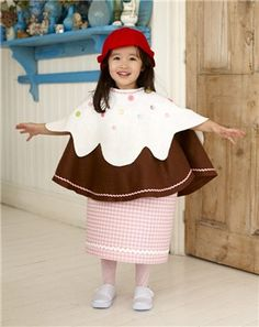 cupcake costume could be fun if it could be changed for differing looks perhaps - Raving Rabbids Halloween Costume