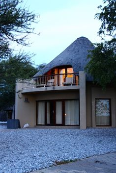 Okaukuejo CampFamous for its floodlit waterhole Okaukuejo Rest Campis also the administrative centre of Etosha.Most visitors travel though this camp with its characteristic stone tower and Etosha Ecological Institute is also situated within the camp.The rest camp was