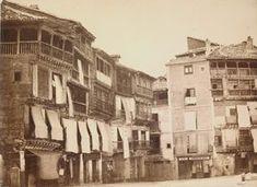 Casas de la plaza mayor. Charles Clifford, 1853. Victoria & Albert Museum.