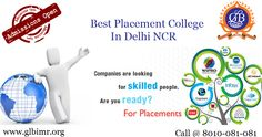 100% #Placement Management College In NCR - #GLBajaj, has a consistent image of 100% placement #Management #College in #GreaterNoida, NCR. See more @ http://www.glbimr.org/placement-management-college-in-greater-noida-ncr.asp  #PGDM #MBA #Career #Learning #Bschool