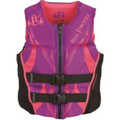 Full Throttle Women's Hinged Rapid-Dry Flex-Back, Purple
