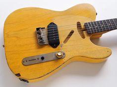 RS Guitarworks Workhorse w/Rosewood Fingerboard - Slide Guitar - Fender Bender, Wall Of Sound, Slide Guitar, Cheap Guitars, Cigar Box Guitar, Guitar Building, Pedalboard, Guitar Design, Electric Guitars