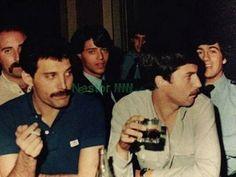 Freddie Mercury. Queen. 1980s. rare.