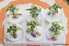 Snow Globe Ornaments by @Southern Hospitality Rhoda #JustAddMichaels