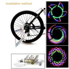 LED Bicycle Motorcycle Car Bike Tyre Tire Valve Hot Wheels Redlines Colorful CA