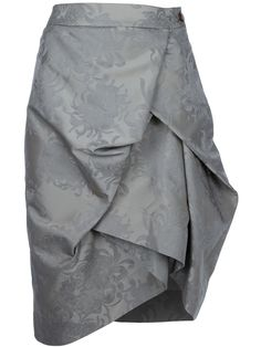 I like the cut of this, very flattering.  VIVIENNE WESTWOOD RED LABEL Brocade skirt