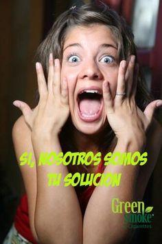 Si tienes la intención de dejar de fumar... nosotros tenemos la mejor Solución!!! #Green Smoke Algeciras #ecigs #vapear #cigarrilloelectronico