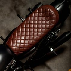 Waterproof Leather Cafe Racer Seat Flat Long Cushion For Suzuki Gn125 Rich And Magnificent Back To Search Resultshome