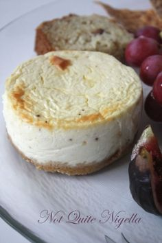 cheese plate cheesecakes-camembert and blue cheese cheesecakes